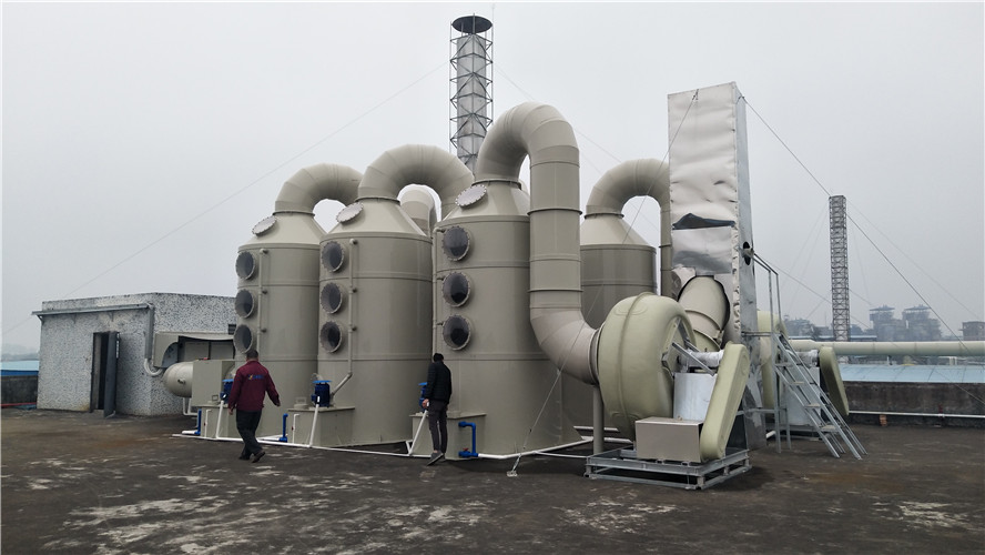 PP塑料酸霧凈化塔/PVC